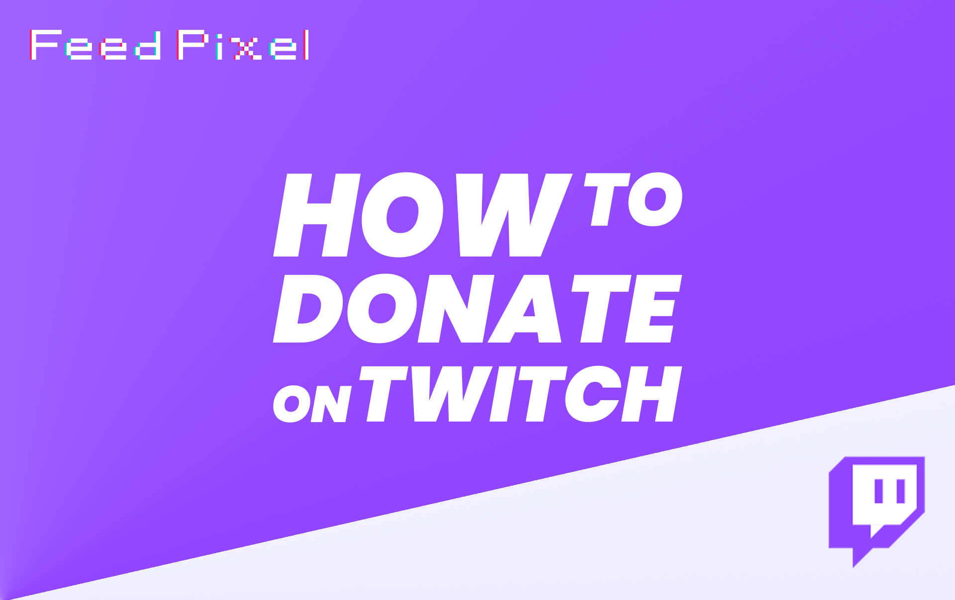 How To Donate On Twitch?
