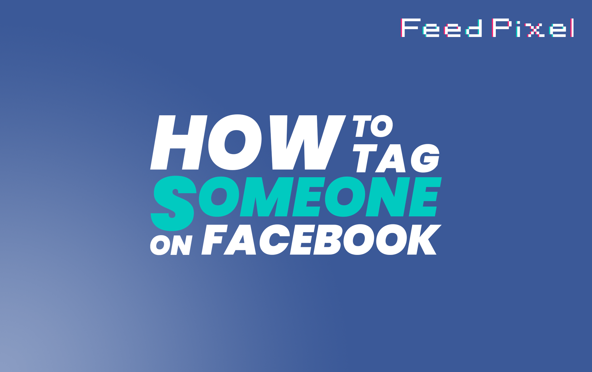 How To Tag Someone On Facebook?