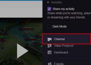 Como custear em Twitch - canal de toque